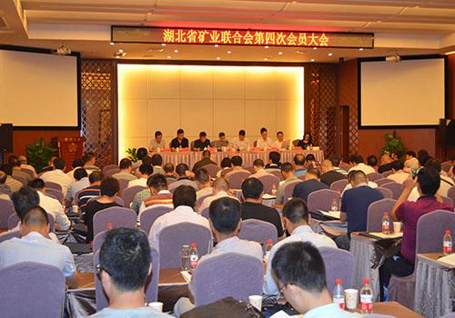 湖北省矿业联合会召开第四次会员大会