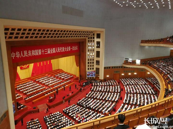 十三届全国人大一次会议3月5日上午9时在人民大会堂开幕